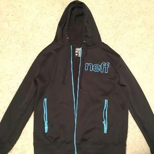 Neff Zip-up Hoodie Size M